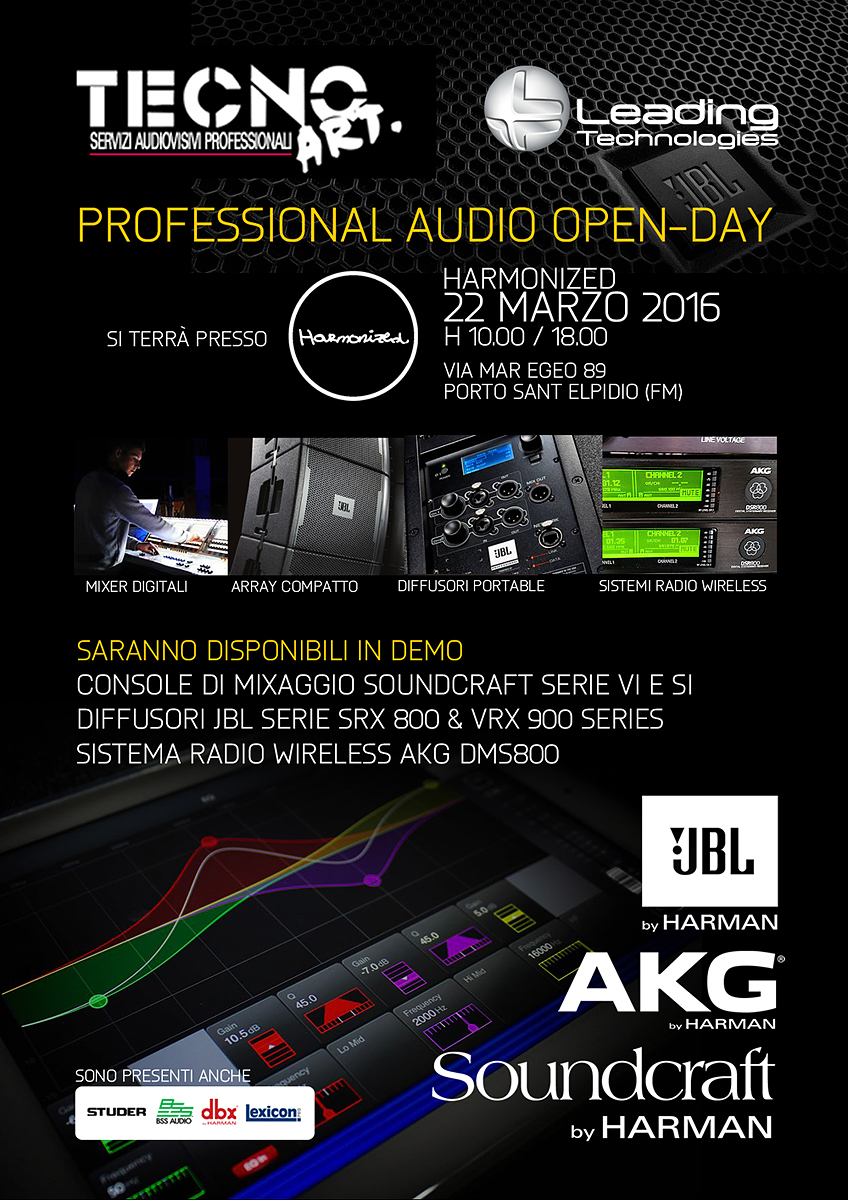 Professional Audio Open-Day