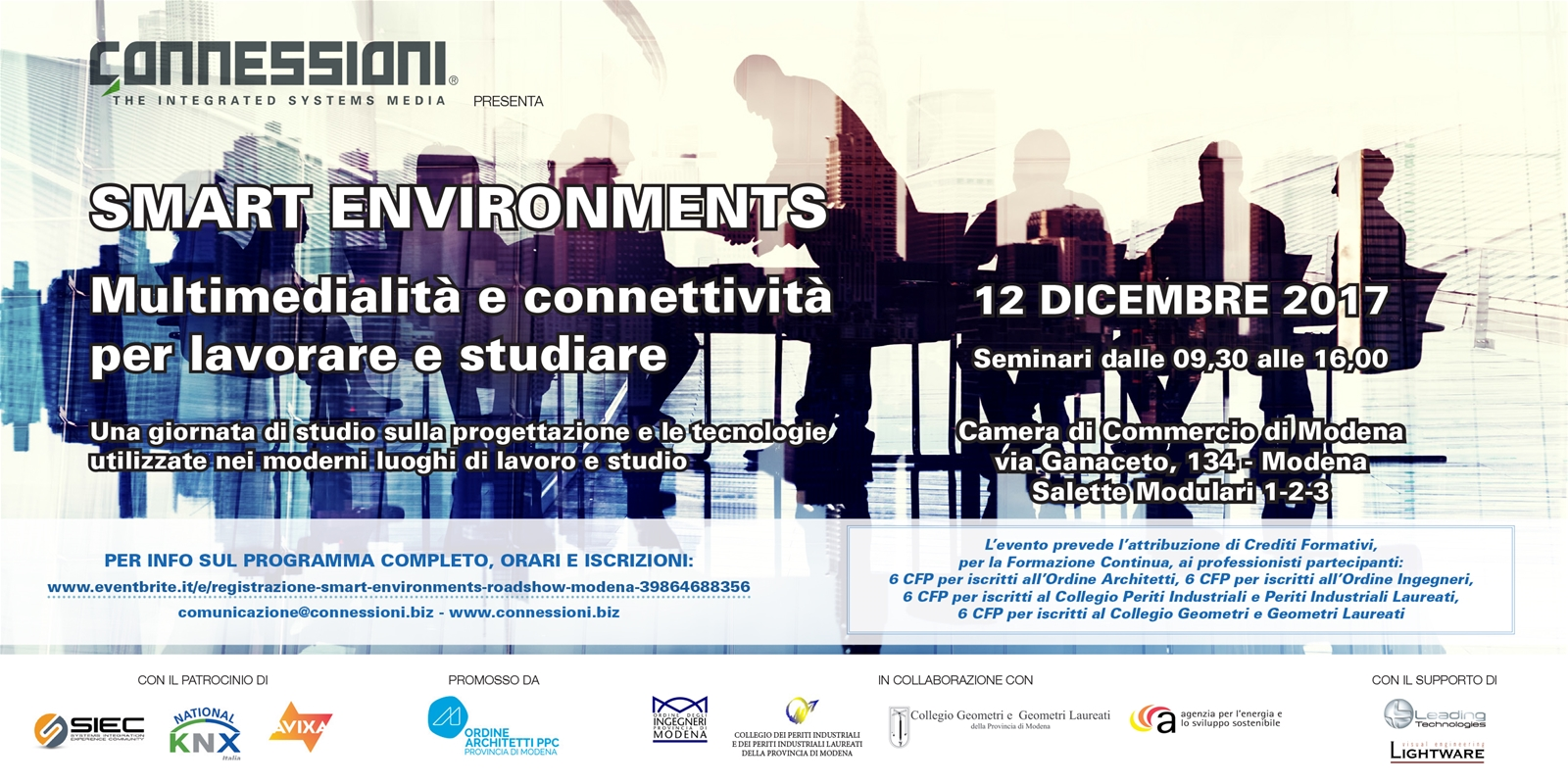 Smart Environments Roadshow - Ultima tappa