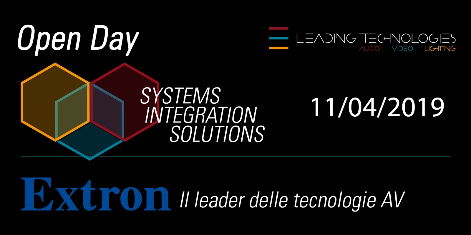 2° Open day tecnologie Audio-Video integrate offerte dal catalogo EXTRON
