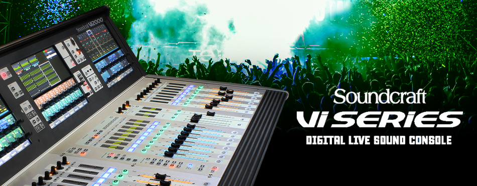 Soundcraft Serie Vi a X-FACTOR