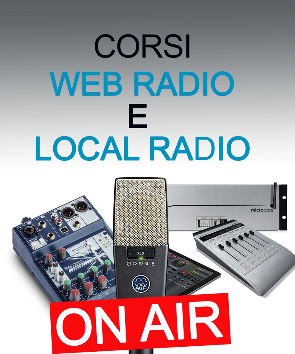 Corso webradio e local radio (FM)
